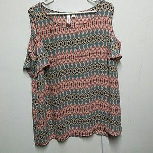 Tacera plus size blouse